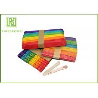 Buy cheap Healthy Short Wooden Craft Sticks With Grooves Jagged For Handicraft from wholesalers