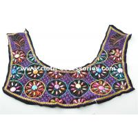Wholesale Customized Brown Beaded Neck Trim Satin For Women Vintage Sleevless from china suppliers
