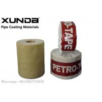 Buy cheap UV Resistance Petroleum Petrowrap Anti Corrosion Tape For Pipe Fitting Flange from wholesalers
