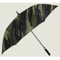 Buy cheap Wholesale Wind Resistant Camo Manual Straight Golf Umbrella from wholesalers