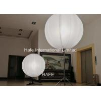 Buy cheap 3 Ft / 90cm Inflatable Event Decoration 1200W Halogen Lamp With 4.2m Stainless Tripod from wholesalers