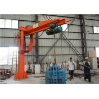Buy cheap 0.5 - 5t BZ Model Column Cantilever Jib Crane Lifting Equipment For Workshop from wholesalers