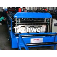 Wholesale Cold Roll Forming Machine for Making Steel Structure Floor Decking Panel from china suppliers