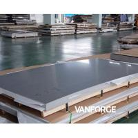 Buy cheap ASTM A240 S31803 S32205 Stainless Steel Flat Plate Excellent Weldability from wholesalers