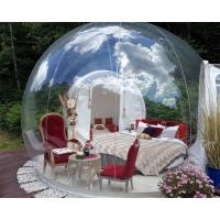 Wholesale Outdoor Custom Made Inflatable Bubble Tent Transparent Camping Carpa Burbuja Pvc from china suppliers