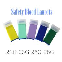 Buy cheap Disposalbe Safety Blood Lancets Medical sterile ISO approved from wholesalers