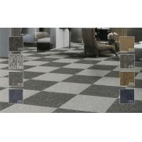 Buy cheap Fire Retardant Anti-static Luster Pile Soft Carpet Tiles , Rubber Backed from wholesalers
