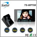 Buy cheap the electronic lock intercom wireless outdoor door peephole camera from wholesalers