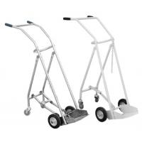 Buy cheap SS 201/304 Oxygen Tank Trolley , Foldable Medical Oxygen Cylinder Trolley from wholesalers