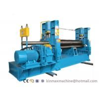 Buy cheap 3 Roller Hydraulic Plate Rolling Machine With CE Sheet Bending Machine from wholesalers