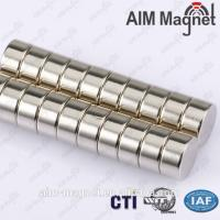 Buy cheap N50 15 x 20 mm cylinder neodymium magnet from wholesalers