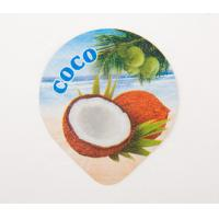 Buy cheap PP Film Aluminium Laminated Paper , Aluminum Foil Lids With PP Heat Seal Lacquer Seal from wholesalers