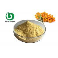 Buy cheap Yellow Fruit Juice Powder Sea Buckthorn Powder For Beverages Food Eco Friendly from wholesalers