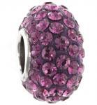 Buy cheap Fashion KJL-BD2887 925 Sterling Silver Charm AAA Czech crystal Beads for Bracelets, Earrings from wholesalers