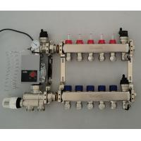 Buy cheap Stainless Steel Underfloor Heating Manifolds Manufacturers from China from wholesalers