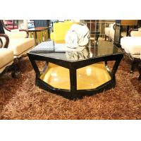Buy cheap Cool Round / Large Square Coffee Table , Elegant Mirrored Round Coffee Table Sets from wholesalers