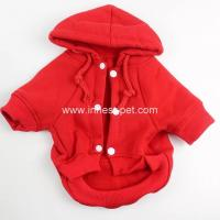 Wholesale pet product plain color cat dog pet clothes doggie apparel puppy dogs coat from china suppliers