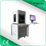 Buy cheap Enclosed type fiber laser marking and cutting machine fiber laser engraver laser marker from wholesalers
