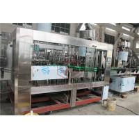 Buy cheap Morgen Tea Glass Bottle Filling Machine , Juice Filling Line With Juice Return System from wholesalers