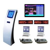 Buy cheap Bank Service Counter Queue Management System Integrated with Customer Feedback Terminal from wholesalers