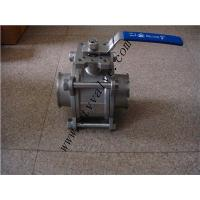 stainless steel 3PC Ball Valve with 1000WOG