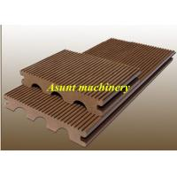 Buy cheap WPC PP PE Decking Plastic Profile Production Line For Indoor Flooring from wholesalers