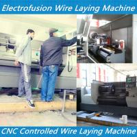 Buy cheap PE electrofusion fittings wire laying pipe fitting wire laying machine pe coupling wire la from wholesalers