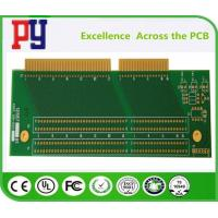 Buy cheap 2 layer Rigid PCB Circuit Board 1.6 fr4 1oz  Double Sided PCB  enig finger  lead free osp from wholesalers
