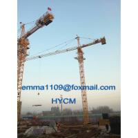 Buy cheap QTZ5015 Building Tower Crane 6tons Load High Motor Protection Class H from wholesalers