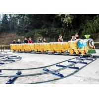 Buy cheap 2KW Power Train Amusement Ride 1 Train Head 3 Carriages Thick Material from wholesalers