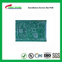 Buy cheap Single Layer PCB Design Bare FR4 1.6MM HASL PCB Green Solder Mask from wholesalers
