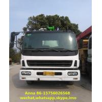 Buy cheap 6 X 4 Driving Type Used Concrete Pump Truck Mounted Concrete Boom Pump from wholesalers