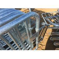 Buy cheap 35mm tubing crowd control barrier from wholesalers