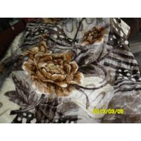 Buy cheap Winter Printed Breathable Soft Mink Blanket Queen Size With 100% Polyester from wholesalers