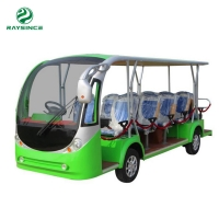 Buy cheap Factory Supply Shuttle bus Battery Operated electric tourist bus for Air port from wholesalers