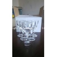 Buy cheap 2015 popular a set of clear glass wine cup, brandy glass cup wholesale from wholesalers
