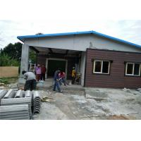 Buy cheap Fast Construction Premade Steel Structure Homes / Light Gauge Steel Building House from wholesalers