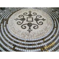 Wholesale Dark Emperador Mix Marble,Glass Mosaic Patten from china suppliers