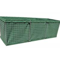 Buy cheap Mil 3 Hesco Bastion Barrier Defence , Gabion Barrier For Military product