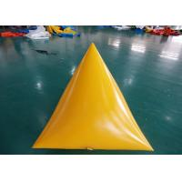 Buy cheap Triangle Shape Yacht Race Market Inflatable Buoys For Water Triathlons Advertising from wholesalers