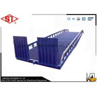 Buy cheap 10ton Loading Dock Ramps For Trailers / Forklift Loading Cargos from wholesalers