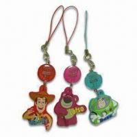 Wholesale Mobile Phone Charm/Novelty, Made of PVC and Cloth, Best for Promotional Gifts and Souvenirs from china suppliers