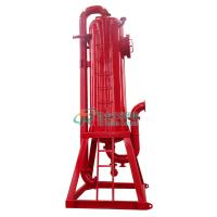 Buy cheap Well Drilling Safety Mud Free Gas Separator / High Pressure Filter Separator / Well Fluids Separator from wholesalers