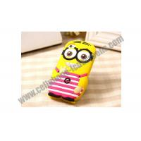 Wholesale TPU Cute Cell Phone Protective Cases Yellow Durable For iPhone / Samsung from china suppliers