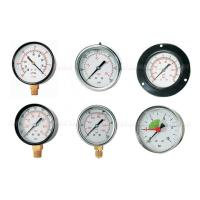 Buy cheap -76cmHG - 1500Psi Pneumatic Air Pressure Gauge,Pressure Manometer 40mm-150mm Dial Size from wholesalers