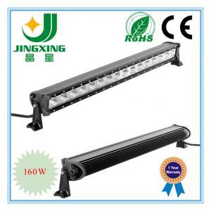 Auto led light bar 160w offroad led bar light Manufactures