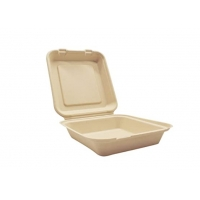 Buy cheap 6 Inches Lunch Freezer Safe Biodegradable Takeout Containers from wholesalers