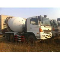 China Used Concrete Mixer Truck Hino Brand Mixer Truck on sale