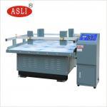 Buy cheap Simulation Transportation Mechanical Vibrator / Carton Vibration Table equipment from wholesalers