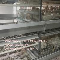 Buy cheap Poultry Equipments Four Ladders H Frame Automatic Chicken Cage Automatic Poultry Cage Aumatic Layer Cage from wholesalers